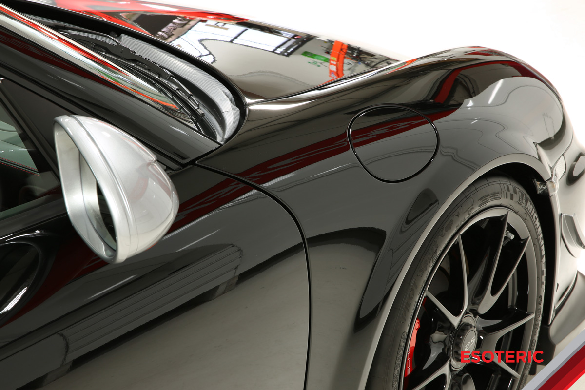 Porsche full wrap paint protection film at ESOTERIC