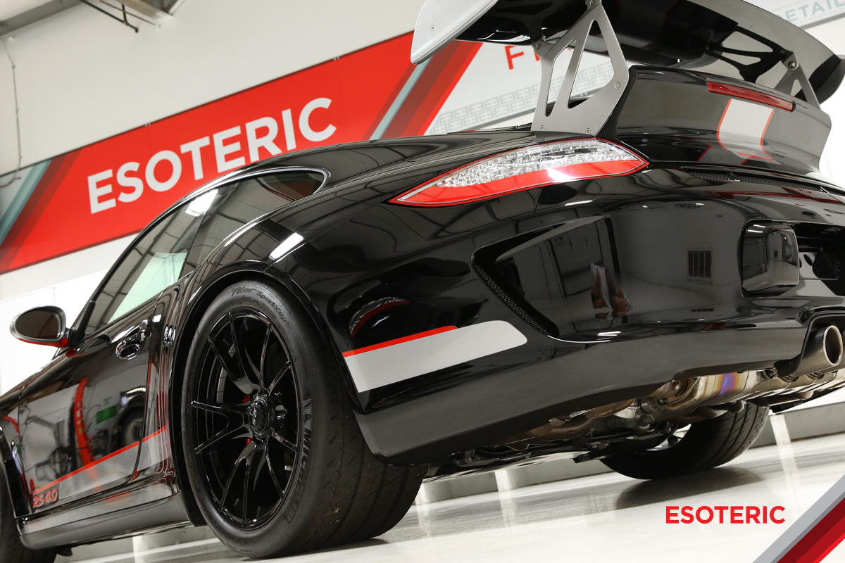 Porsche paint protection film at ESOTERIC