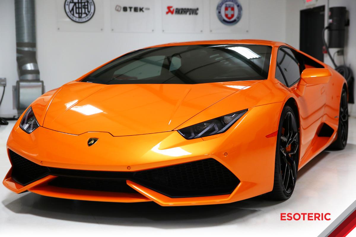 ESOTERIC Lamborghini Detailing