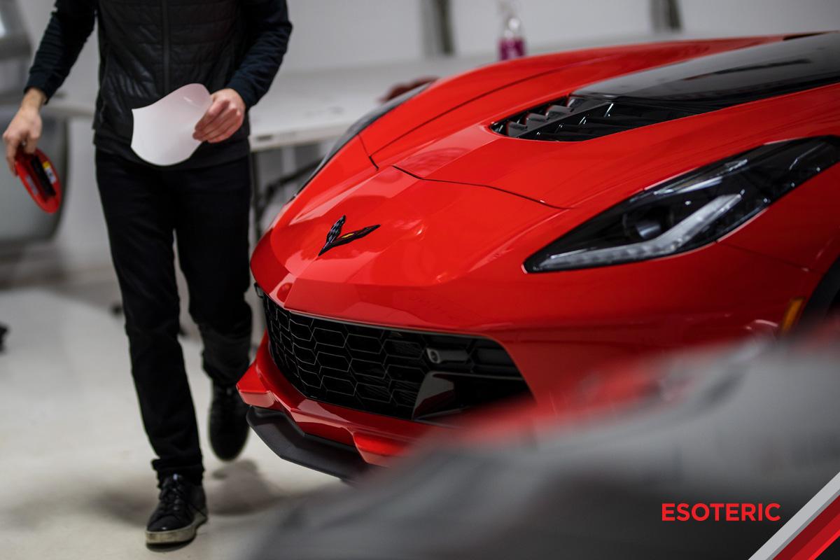 esoteric-new-car-prep-corvette-clear-bra