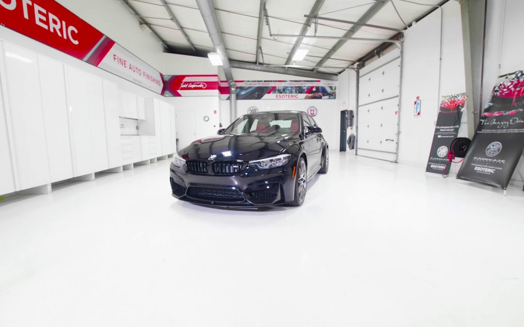 BMW M3 New Car Prep at ESOTERIC
