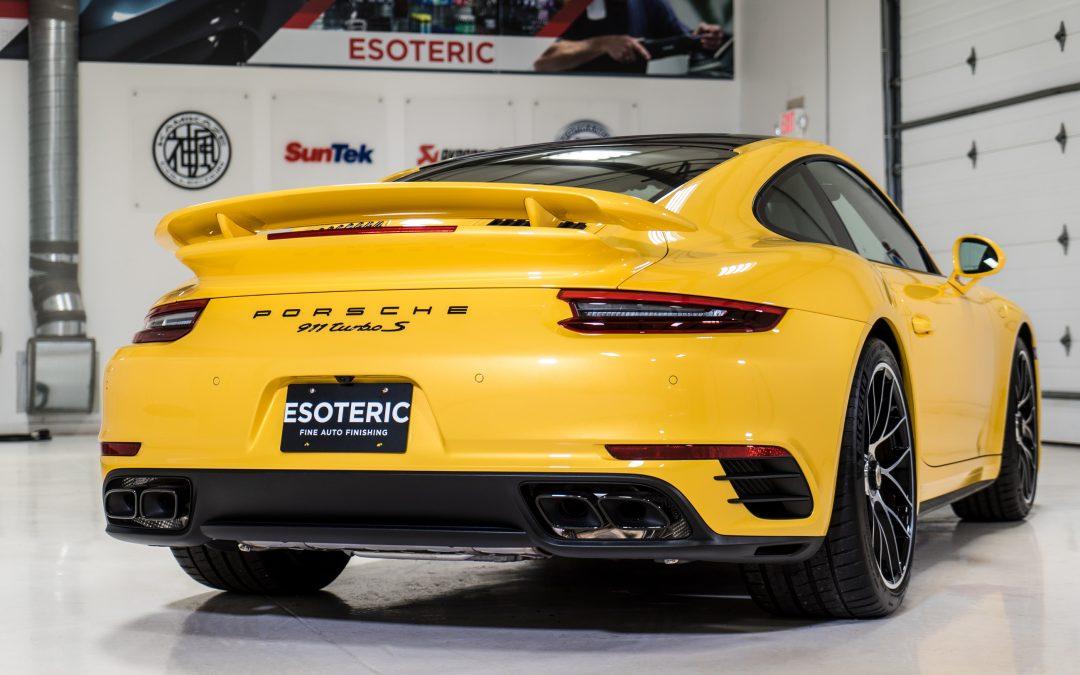 Paint to Sample Porsche Turbo S Full Wrap