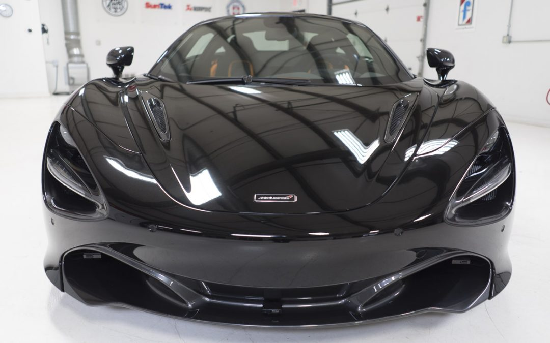 Onyx Black McLaren 720S Video – Full PPF Wrap