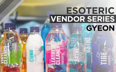 ESOTERIC Vendor Series – GYEON