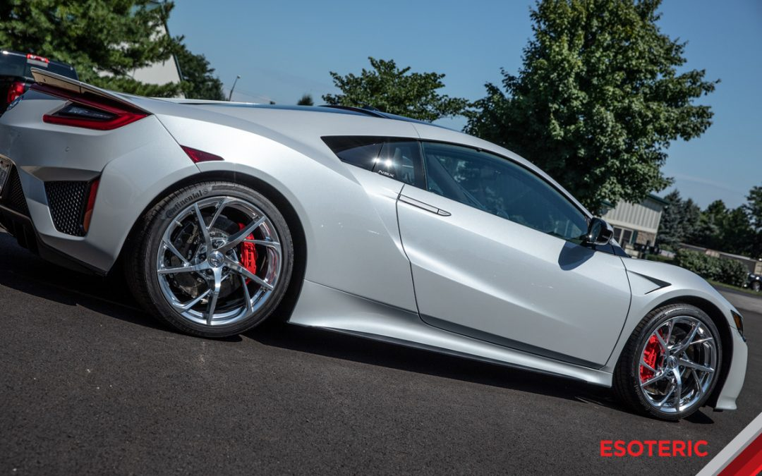 Acura NSX Full Paint Protection Film (PPF) Wrap