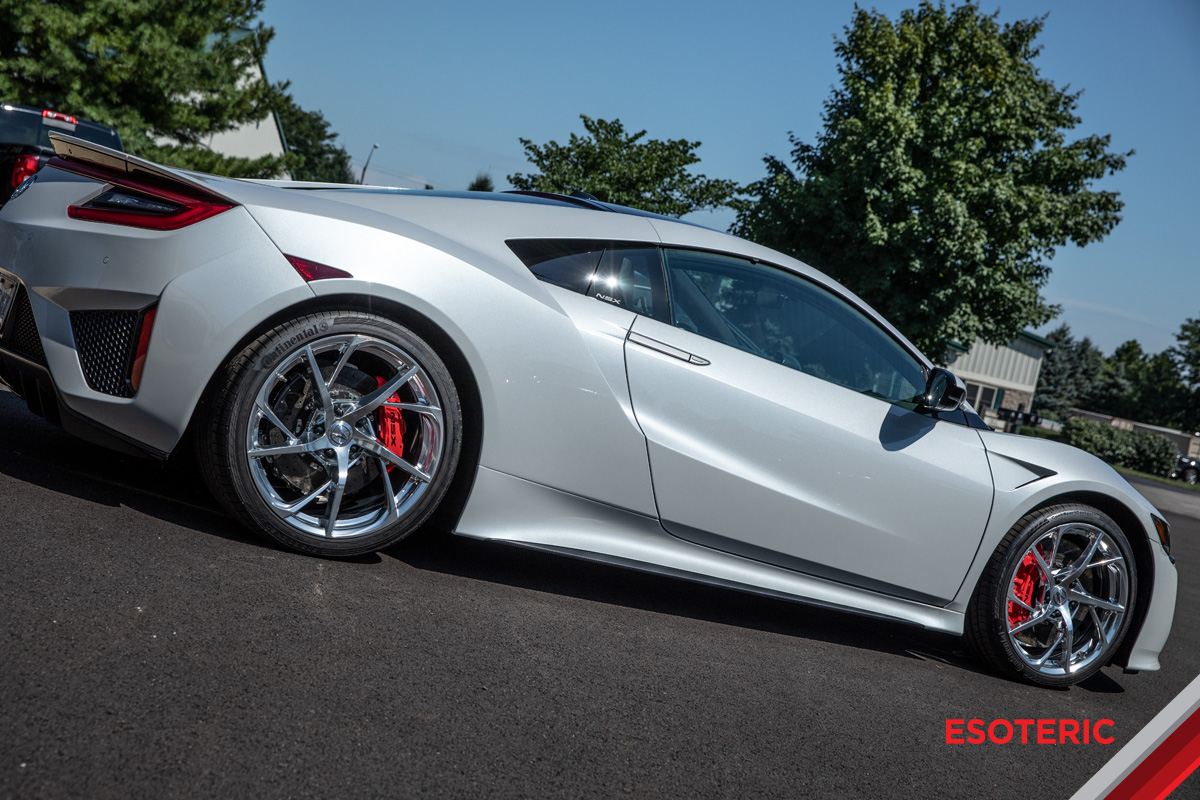 Acura Nsx Full Paint Protection Film Ppf Wrap Esoteric Auto Detail In Columbus Ohio Detailing Clear Bra Training And Product Sales