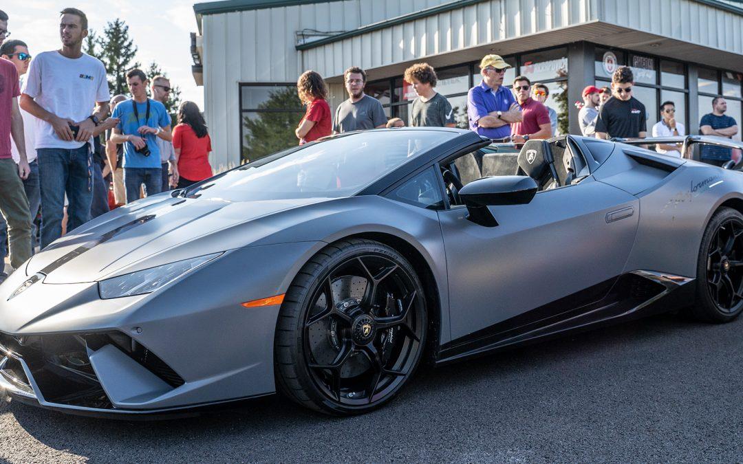 Lamborghini Huracan Performante Spyder Full PPF Matte Wrap