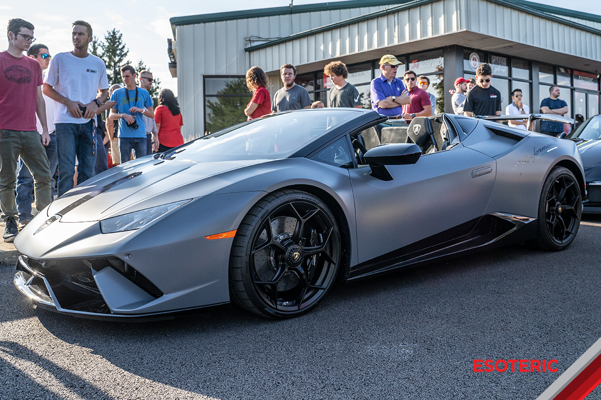 BMW Columbus Ohio >> Lamborghini Huracan Performante Spyder Full PPF Matte Wrap | ESOTERIC Auto Detail in Columbus ...