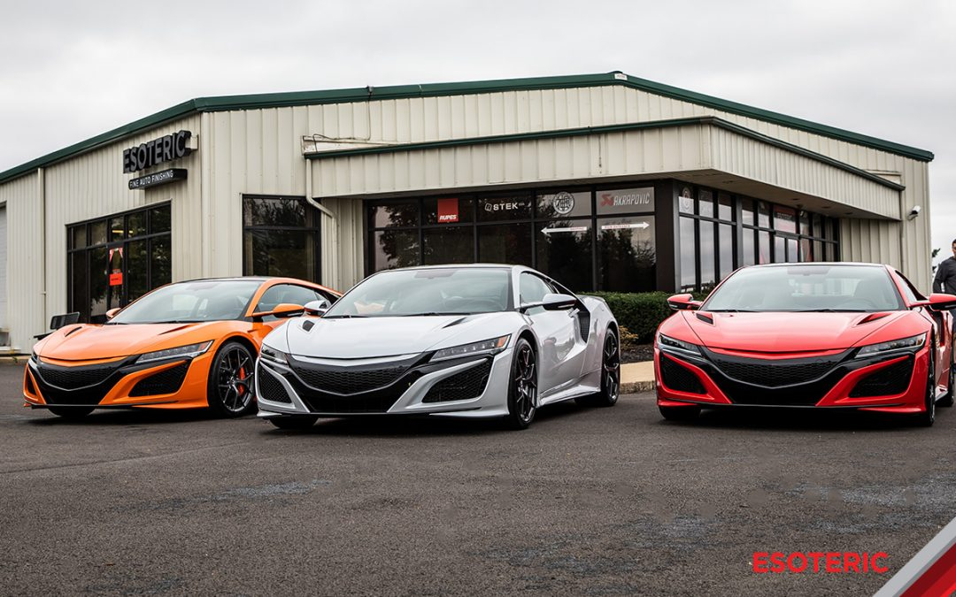 2019 Acura NSX Media Event