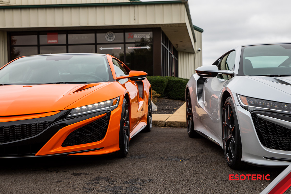 2019 Acura NSX Media Event | ESOTERIC Auto Detail in
