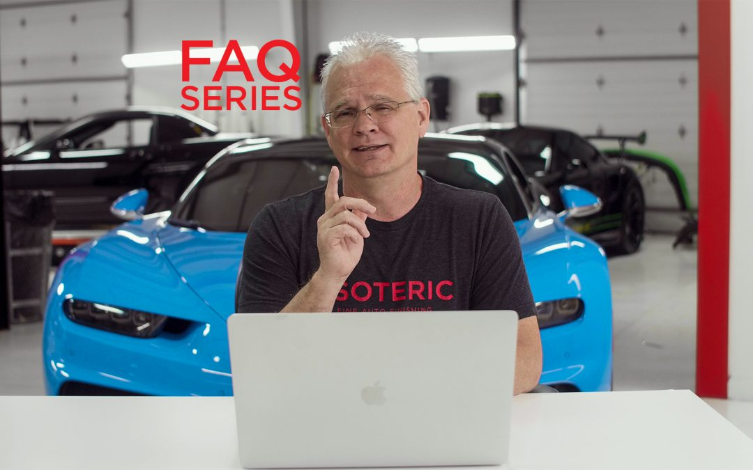 New Detailing FAQ Video Series With Todd Cooperider
