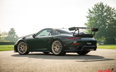 Underberg Green Porsche GT2RS Paint Correction and Paint Protection Film Wrap