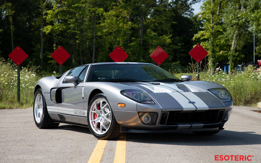 Preserving Automotive History – First Gen Ford GT Paint Protection Film Wrap