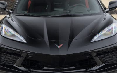 New C8 Corvette Detailing Section