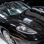 Black Ferrari F430 Detailed Polished Leather Treatment Coated