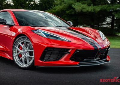 C8 Corvette with HRE Wheels
