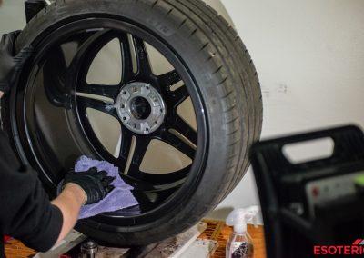 E63S Wagon Wheel Ceramic Coating