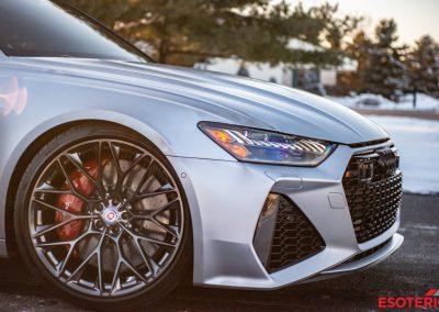 Audi RS6 Avant Satin PPF HRE Wheels