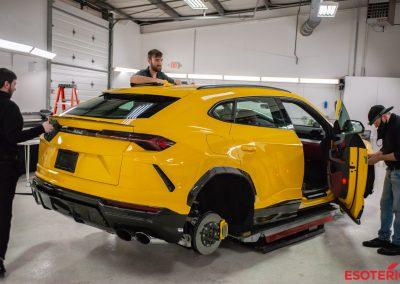 Lamborghini Urus Paint Protection Film