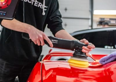 C8 Corvette Paint Correction at ESOTERIC