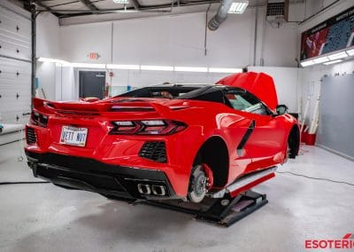 C8 Corvette Paint Protection Film at ESOTERIC