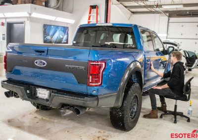 Ford Raptor Full Paint Protection Film Wrap