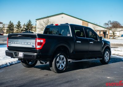 Ford F150 Satin Matte Paint Protection Film Wrap