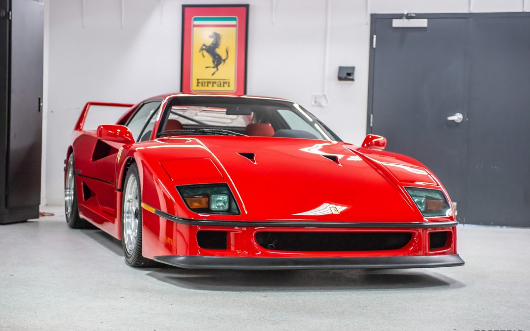 Detailing and Protecting a Ferrari F40