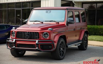 Protecting a Rare Satin Painted G-Wagon with Satin PPF