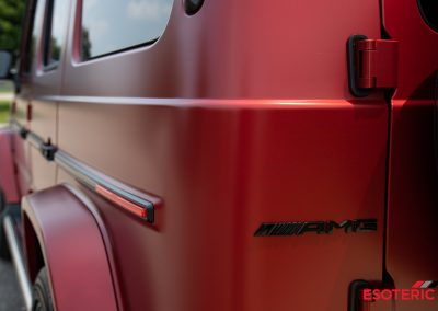 G-Wagon G63 Full Satin Paint Protection Film