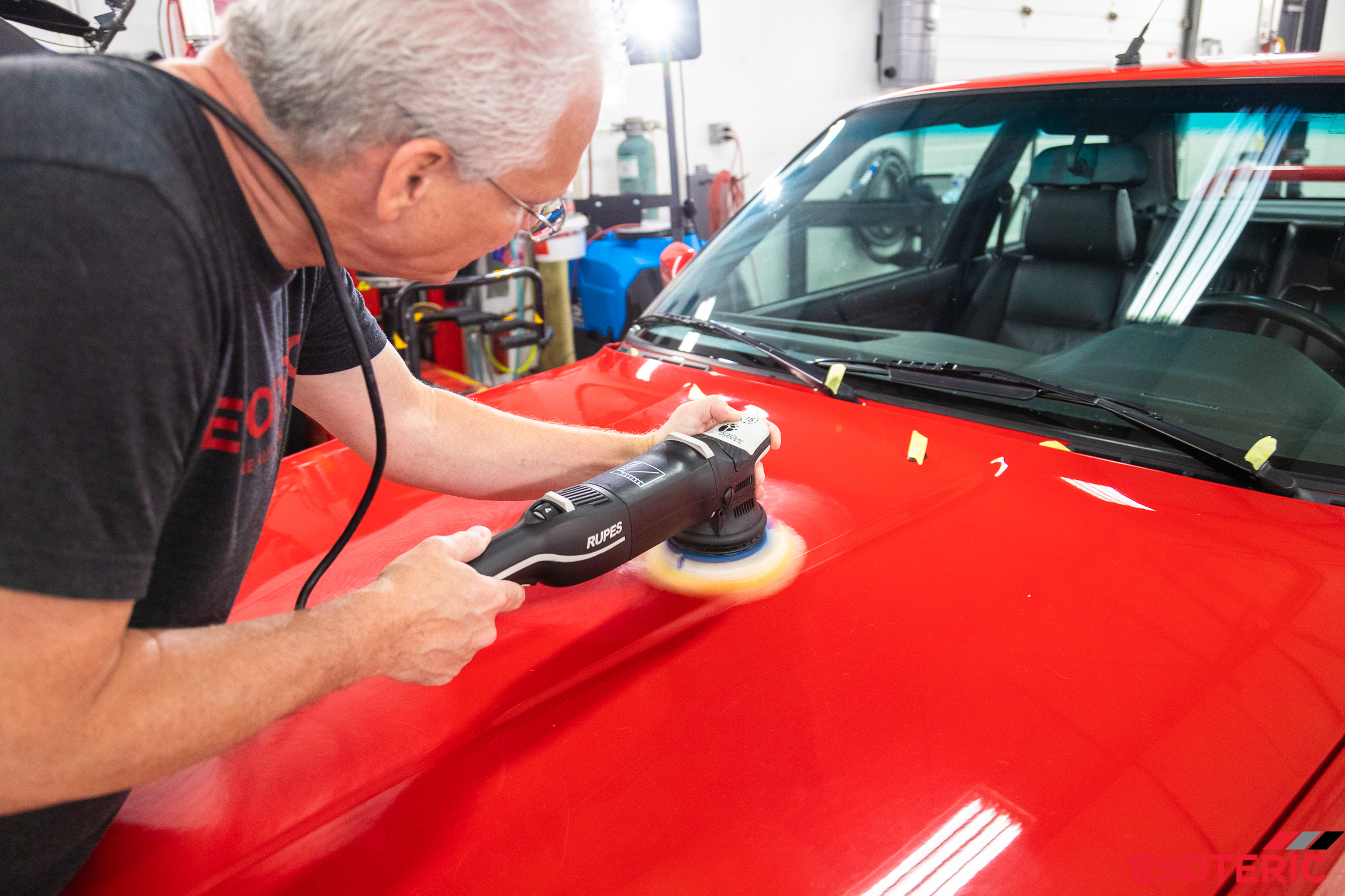 BMW Paint Correction at ESOTERIC Detail