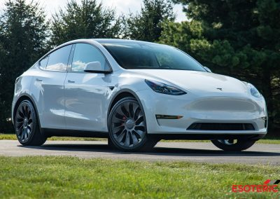 Tesla Model Y (White)