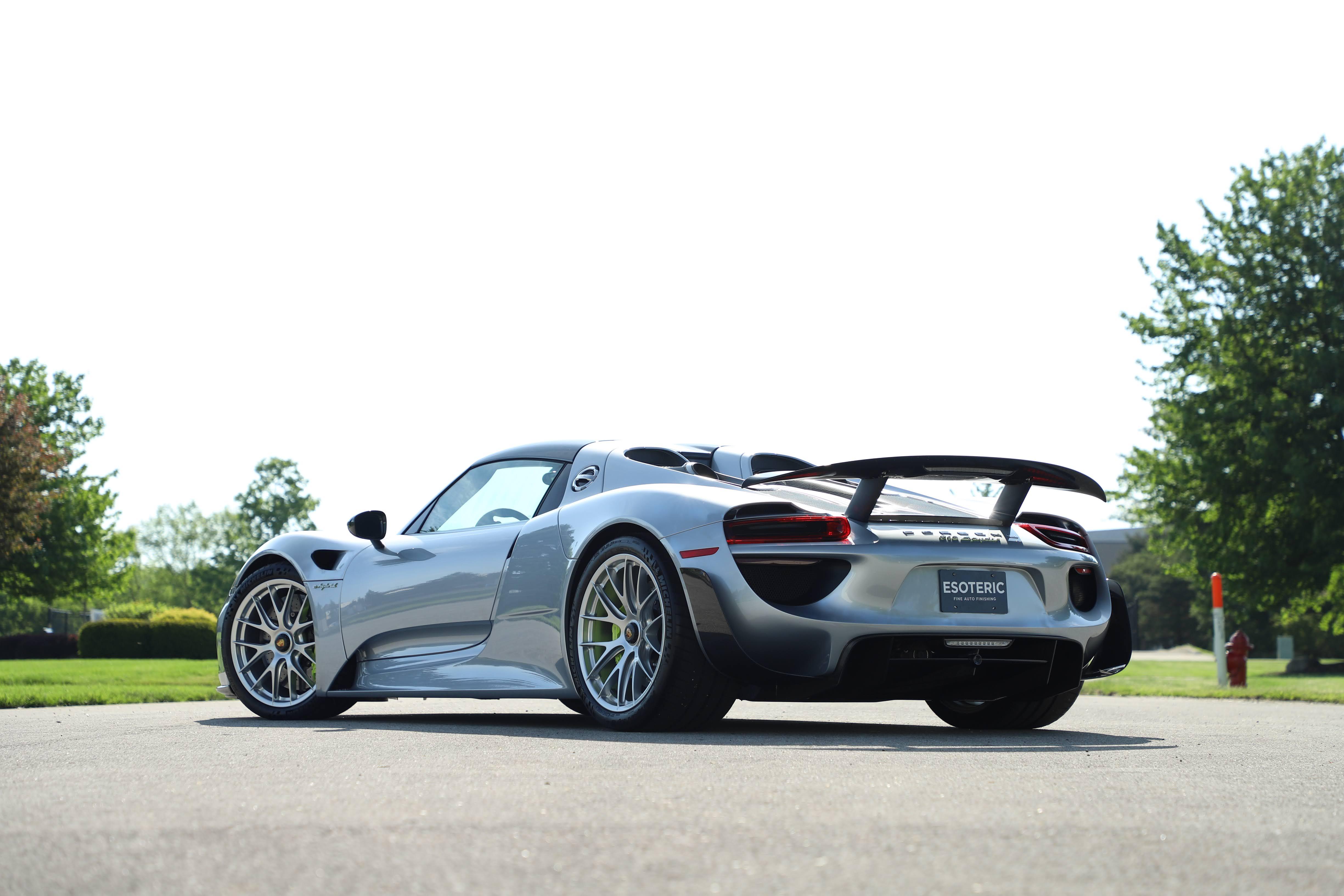 Porsche ESOTERIC Detail