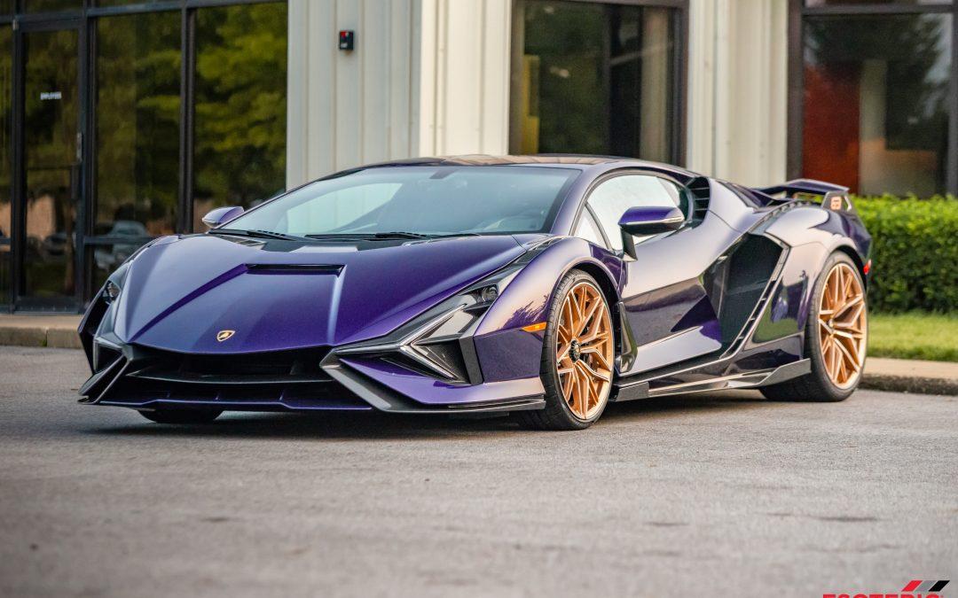 Perfecting a 1 of 63 Lamborghini Sian