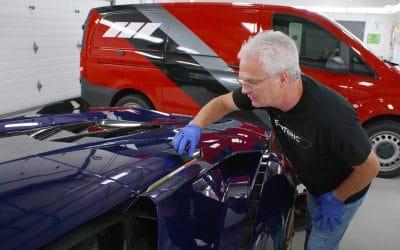 Ceramic Coating a Lamborghini Sian