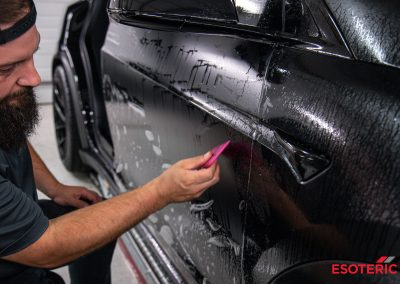 Tesla Model X PPF Wrap